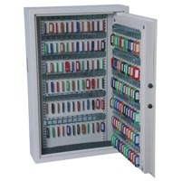 Phoenix 0031 Key Safe Electronic with Fixings Keyrings and Tags 30 Keys 5kg W300xD100xH280mm Ref KS0031E