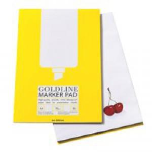 Goldline A4 Bleedproof Marker Pad GPB1A4