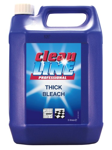 Maxima Thick Bleach Disinfecting for Drains and Toilets 5 Litres Ref VSEMAXTB [Pack 2]