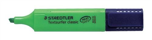 Staedtler Textsurfer Classic Highlighter Inkjet-safe Line Width 2.5-4.7mm Green Ref 3645 [Pack 10]
