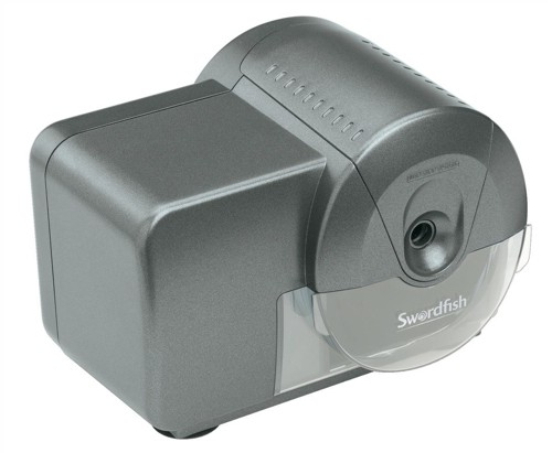 Swordfish Home & Office Electric Pencil Sharpener Mains Powered Ref 40050