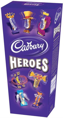 Cadbury Heroes Miniature Chocolates Selection Box 185g Ref A03810