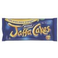 McVities Jaffa Cakes 1g Fat per Cake 3 Cakes per Minipack Ref A07052 [Pack 24]