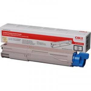 OKI Laser Toner Cartridge Page Life 1500pp Black Ref 43459436