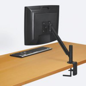Fellowes Smart Suites TFT Monitor Arm VESA 90degree Tilt Clamps 2.5in Capacity 21in 9kg Ref 8038201