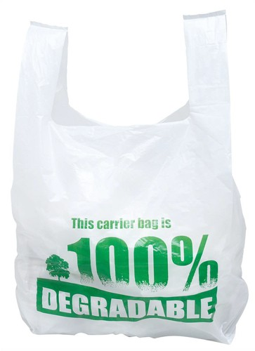 Carrier Bags Vest Style Large Degradable [Pack 2000]