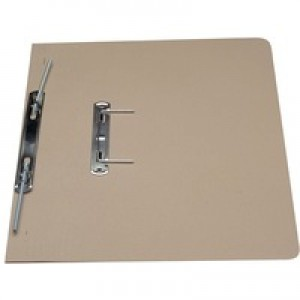 Guildhall Transfer Spring Files Heavyweight 420gsm Capacity 38mm Foolscap Buff Ref 211/7001Z [Pack 25]