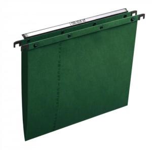 Elba Ultimate A20 Suspension File Manilla V-Base Foolscap Green Ref 100330318 [Pack 25]