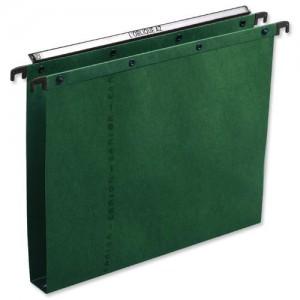 Elba Ultimate Suspension File Manilla Vertical 350sheet 30mm Foolscap Green Ref 100330319 [Pack 25]