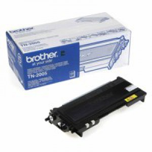 Brother TN2005 Black Laser Toner Cartridge Code TN2005