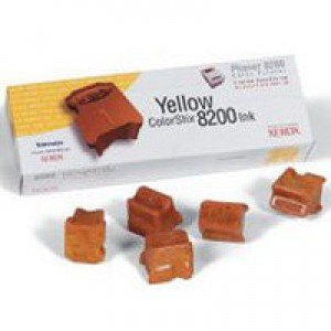 Xerox Phaser 8200 Colorstix Yellow Pack of 5 016-2047-00