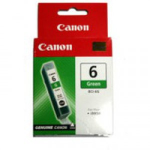 Canon BCI-6G Inkjet Cartridge Page Life 280pp Green Ref 9473A002