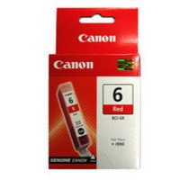 Canon BCI-6R Inkjet Cartridge Page Life 280pp Red Ref 8891A002
