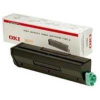 OKI Laser Toner Cartridge Page Life 7000pp Black Ref 01101202