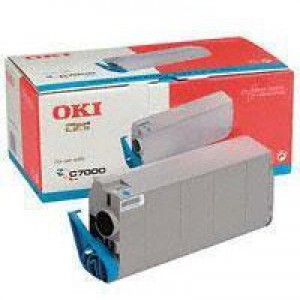 Oki C7100/7300/7500 Toner Cartridge Cyan 41963007