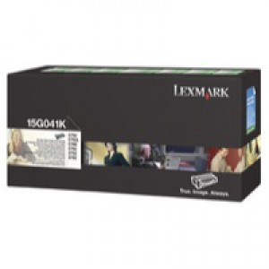 Lexmark C752 Return Programme Toner Cartridge Black 15G041K