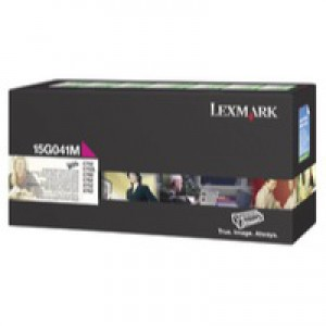 Lexmark C752 Return Programme Toner Cartridge Magenta 15G041M