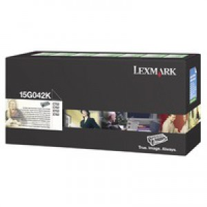 Lexmark C752 Return Programme High Yield Toner Cartridge Black 15G042K