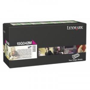 Lexmark C752 Return Programme High Yield Toner Cartridge Magenta 15G042M