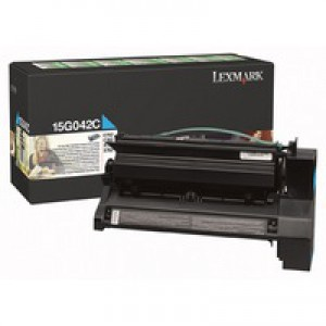 Lexmark C752 Return Programme High Yield Toner Cartridge Cyan 15G042C