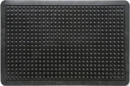 Mat Rubber Anti Fatigue Textured Anti Slip Bevelled Edge 610x910mm Bubble Pattern