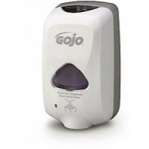 Gojo TFX Foam Soap Dispenser Touch-Free With 3 Batteries Size C For 30000 Activations Code X06240