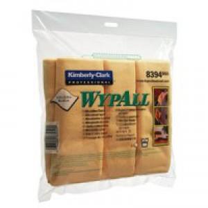 Wypall Microfibre Cloth Yellow Pk6 8394