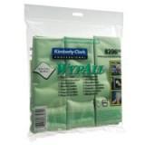 Wypall Microfibre Cloth Green Pk6 8396