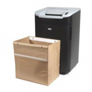 Rexel Recycling Shredder Waste Bags Pk50