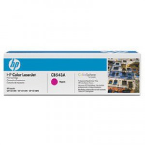 Hewlett Packard [HP] No. 125A Laser Toner Cartridge Page Life 1400pp Magenta Ref CB543A