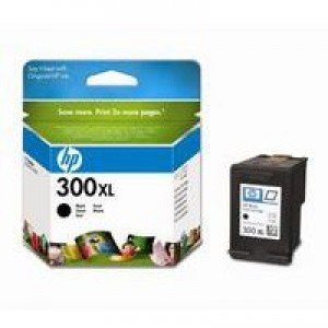 Hewlett Packard [HP] No. 300XL Inkjet Cartridge Page Life 600pp Black Ref CC641EE