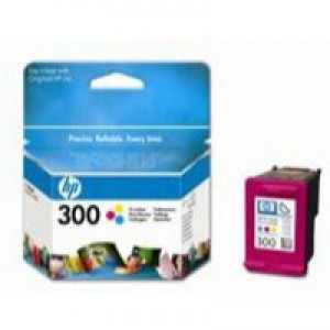 HP No.300 Inkjet Cartridge Tri-Colour Code CC643EE