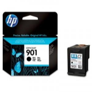 Hewlett Packard [HP] No. 901 Inkjet Cartridge Page Life 200pp Black Ref CC653AE