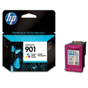 Hewlett Packard [HP] No. 901 Inkjet Cartridge Page Life 360pp Colour Ref CC656AE