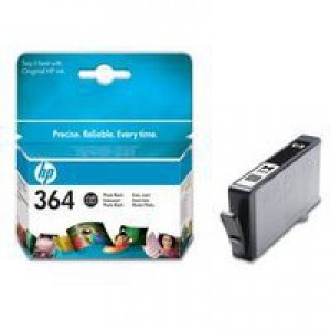 Hewlett Packard [HP] No. 364 Inkjet Cartridge Page Life 130 photos Photo Black Ref CB317EE