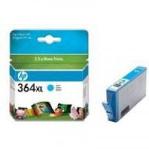 Hewlett Packard [HP] No. 364XL Inkjet Cartridge Page Life 750pp Cyan Ref CB323EE