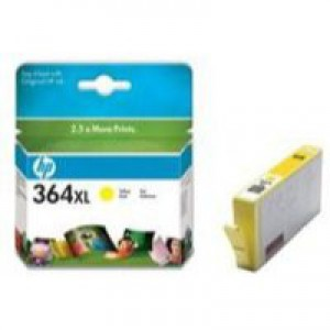 Hewlett Packard [HP] No. 364XL Inkjet Cartridge Page Life 750pp Yellow Ref CB325EE