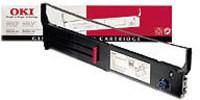Oki ML6300 Flatbed Ribbon Black 43503601