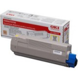 Oki C5850 Yellow Toner Cartridge Code 43865721