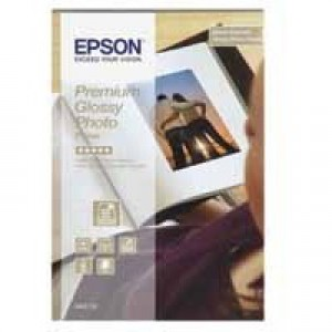 Epson Photo Paper Premium Glossy 255gsm 100x150mm Ref S042153 [40 Sheets]