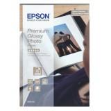 Epson Photo Paper Premium Glossy 13x18cm Pack 30 C13S042154