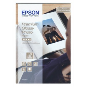 Epson Photo Paper Premium Glossy 13x18cm Pack 30 C13S042154