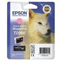 Epson T0966 Inkjet Cartridge UltraChrome K3 Husky Page Life 835pp Light Magenta Ref C13T09664010