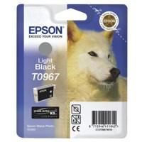 Epson T0967 Inkjet Cartridge UltraChrome K3 Husky Page Life 6210pp Light Black Ref C13T09674010