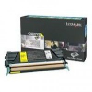 Lexmark Laser Toner Cartridge Return Program Page Life 1500pp Yellow Ref C5200YS
