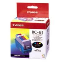 Image for Canon Bubble Jet BJC-7000 Inkjet Cartridge Colour BC-61