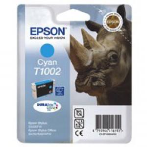 Epson Rhino DURABrite Ultra Ink Cyan T1002