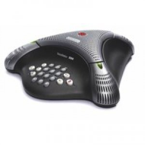 Polycom Voicestation 300 Conference Telephone Unit Dynamic Noise Reduction 3 Microphones Code 30149