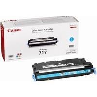 Canon 717C Laser Toner Cartridge Page Life 4000pp Cyan Ref 2577B002