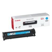Canon 716C Laser Toner Cartridge Cyan Code 1979B002AA